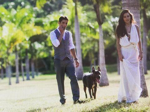 Human, Dog breed, Dog, Carnivore, Dress, Canidae, Companion dog, Working dog, Working animal, Sporting Group,