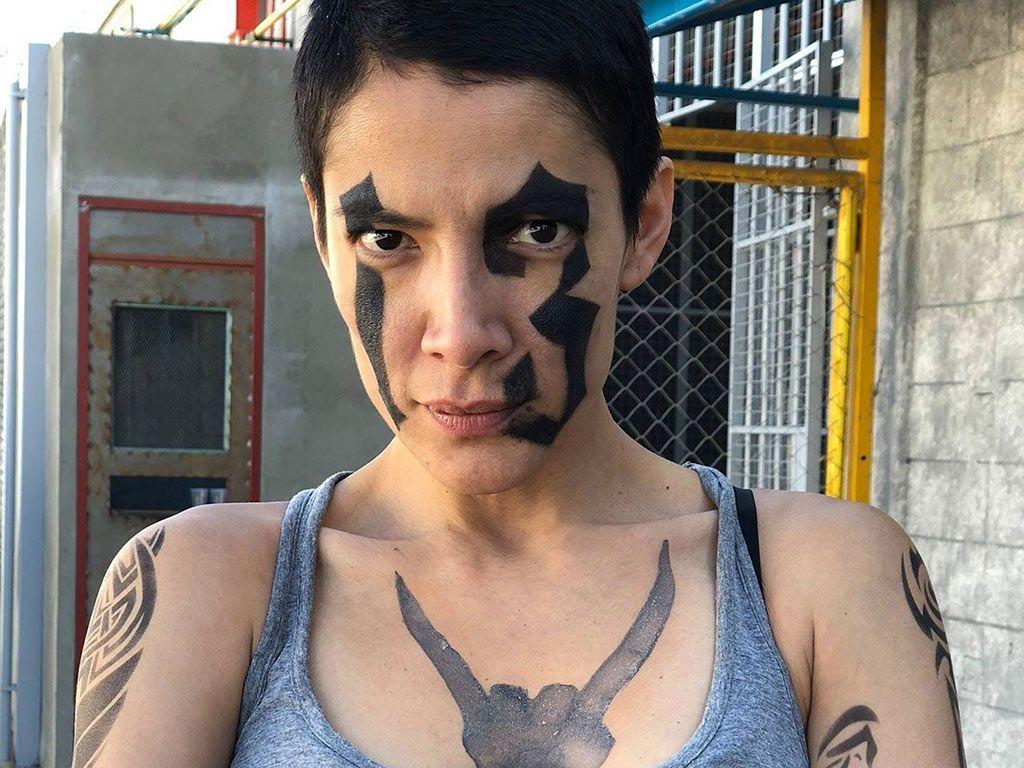 Hacer un nombre Velo Bisagra  María del Carmen Félix, sin dobles de acción en 'Enemigo íntimo'