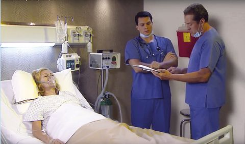 Skin, Patient, Medical procedure, Hospital, Health care provider, Medical equipment, Room, Service, Medical, Health care,