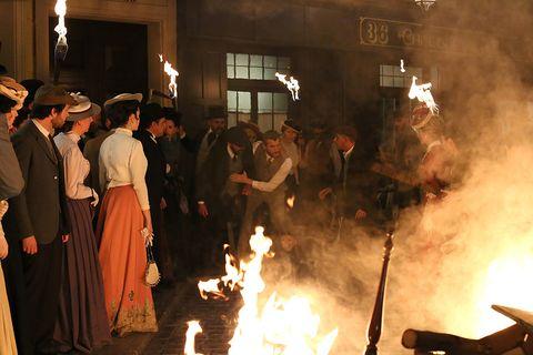 Fire, Event, Heat, Flame, Crowd, Ritual,