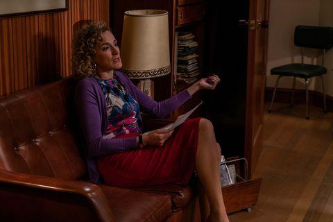 Sitting, Leg, Furniture, Room, Couch, Comfort, Chair, Long hair, Interior design, Human leg,