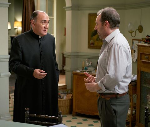 Clergy, Cabinetry, Religious institute, Presbyter, Varnish, Bishop, Elder, Priesthood,