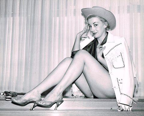 Retro style, Leg, Human leg, Sitting, Footwear, Photography, Monochrome, Model, Style, High heels,