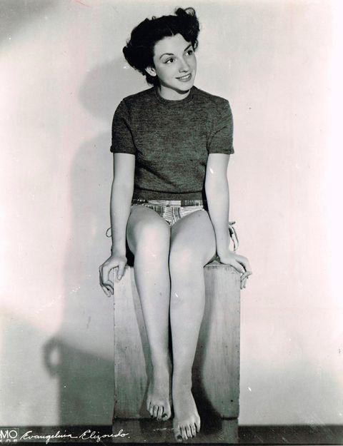 Photograph, Retro style, Clothing, Standing, Vintage clothing, Leg, Snapshot, Sitting, Fashion, Human leg,