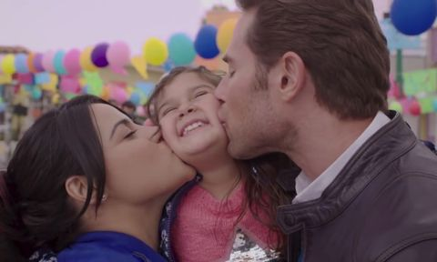 Cheek kissing, Love, Interaction, Child, Kiss, Cheek, Fun, Happy, Gesture, Smile,