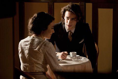 Conversation, Scene, Drama, Restaurant,
