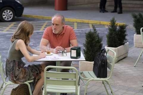 Sitting, Outdoor table, Table, Furniture, Conversation, Patio, Leisure, Vacation,