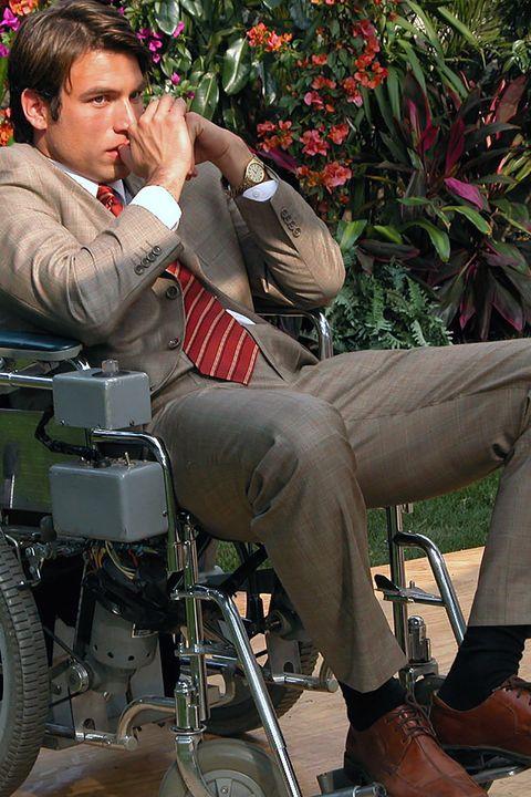 Sitting, Motorcycle, Shrub, Lap, Motorized wheelchair,