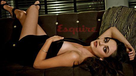 hot photo of mila kunis in esquire