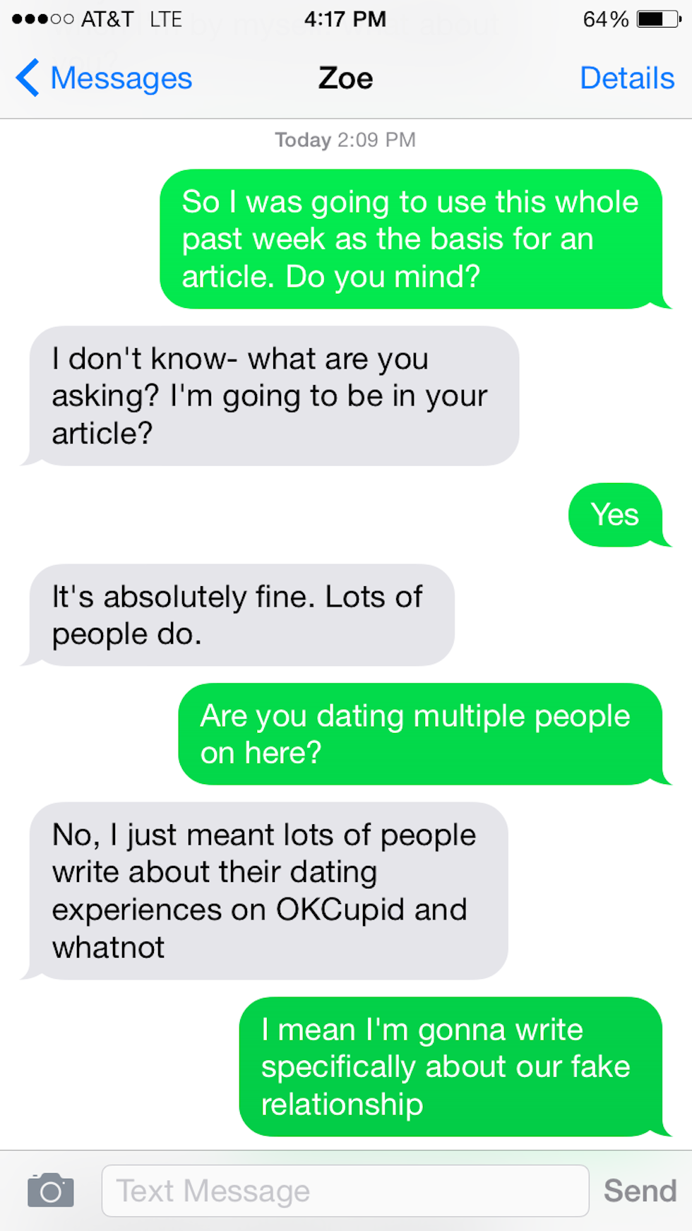 DOLLIE: What to say on dating sites email