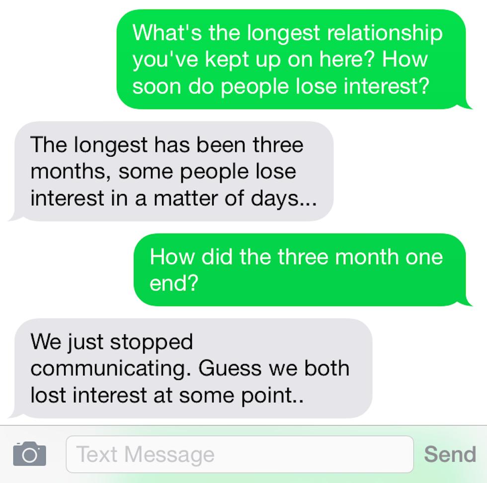 SHARLENE: Virtual texting girlfriend