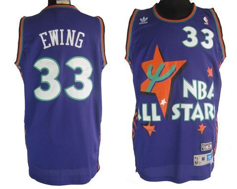 It's nice that the NBA wanted to make the 1995 All-Star jersey specific to that year's host city, but a huge cartoon cactus on the front? You're damn right. The 1995 jerseys are&nbsp&#x3B;ugly, sure, but they're <em>so</em> objectively objectionable that it's hard, 20 years later, not to find them a little bit charming. If you see someone rocking one of these throwbacks in the street, tip your cap.