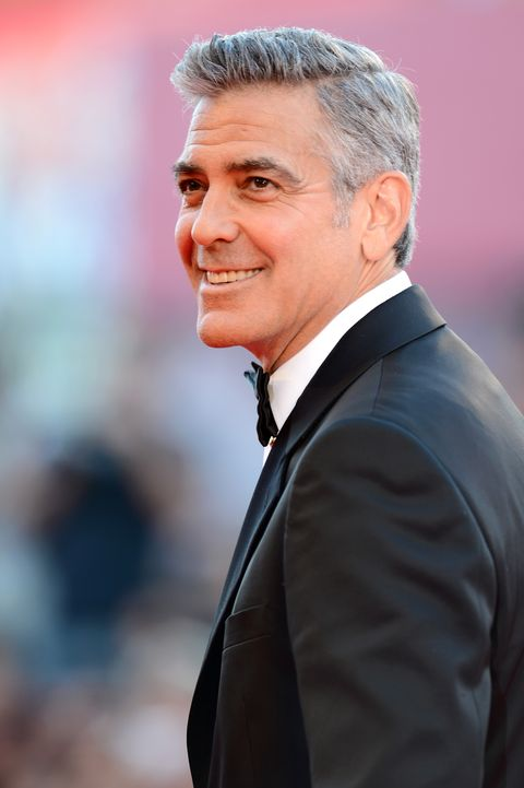 VENICE, ITALY - AUGUST 28:  Actor George Clooney attends the Opening Ceremony And 'Gravity' Premiere during the 70th Venice International Film Festival at the Palazzo del Cinema on August 28, 2013 in Venice, Italy.  (Photo by Ian Gavan/Getty Images)