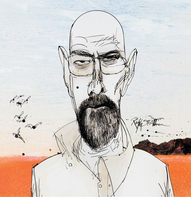 The Ralph Steadman Breaking Bad Blu-ray Covers Are Amazing