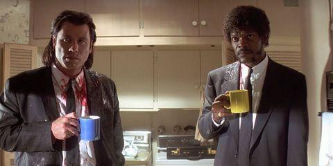 Pulp Fiction coffee scene