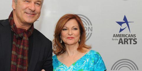 Maureen Dowd and Alec Baldwin