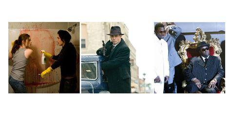 Hat, Photograph, Sun hat, Headgear, Conversation, Vintage clothing, White-collar worker, Fedora, Suit trousers, Cowboy hat,