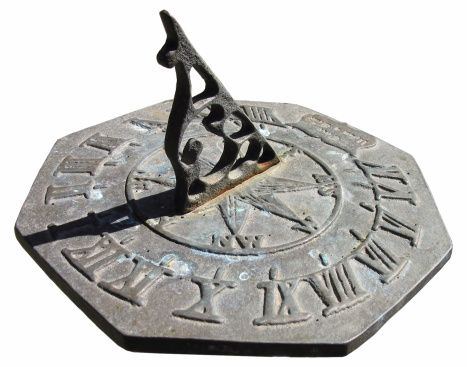 The sundial is invented. Not that anyone really had anywhere to be.