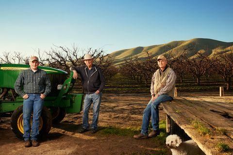 7885dc8c Almond Farmers in California Desert - Plight of Drought Farmers