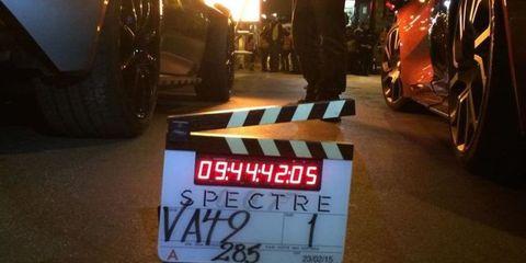 James Bond - Spectre- Car Chase