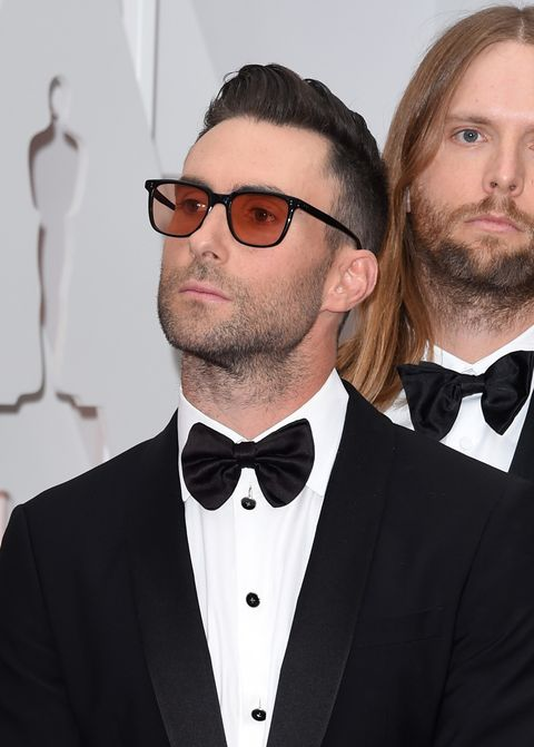 HOLLYWOOD, CA - FEBRUARY 22:  Singer Adam Levine attends the 87th Annual Academy Awards at Hollywood & Highland Center on February 22, 2015 in Hollywood, California.  (Photo by Jason Merritt/Getty Images)