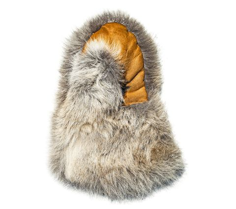 There's nothing warmer than real animal fur from the arctic. Wolf, beaver, wolverine—in terms of durability and warmth, those hides beat anything synthetic. Boundary Fur Sewing will make you a pair of beaver-fur mittens for $200. When the temperature dips below zero, you'll realize it's money well spent. — Nate Becker, Dog musher, Alaska