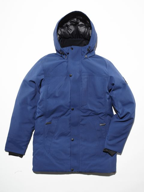The waterproof Westcomb Mission Parka ($550) uses synthetic and natural down for maximum insulation.