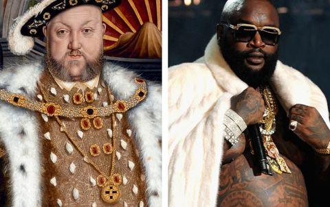 This Tumblr Pairs Medieval Art with Rappers, and It's Brilliant