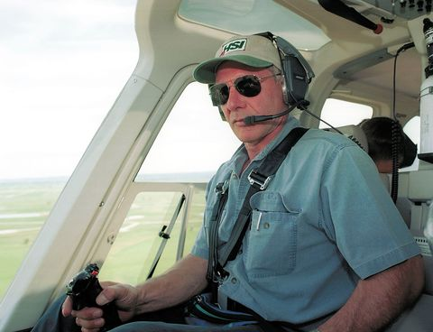 Why Was Harrison Ford Flying a World War II Plane Over Los Angeles?