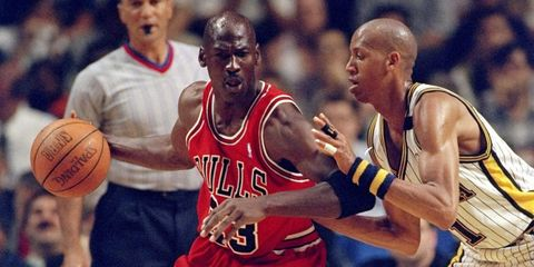 Here's What Happened When Reggie Miller Trash-Talked Michael Jordan