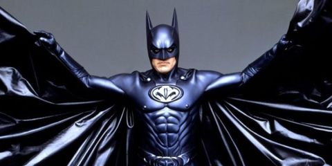 Photos of That God-Awful Nipple-Laden Batsuit Are Going Viral