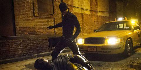 Charlie Cox as Daredevil in Marvel and Netflix's Daredevil