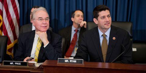 Tom Price & Paul Ryan