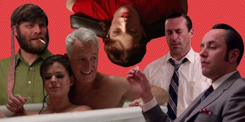 The Stoned Faces of Mad Men