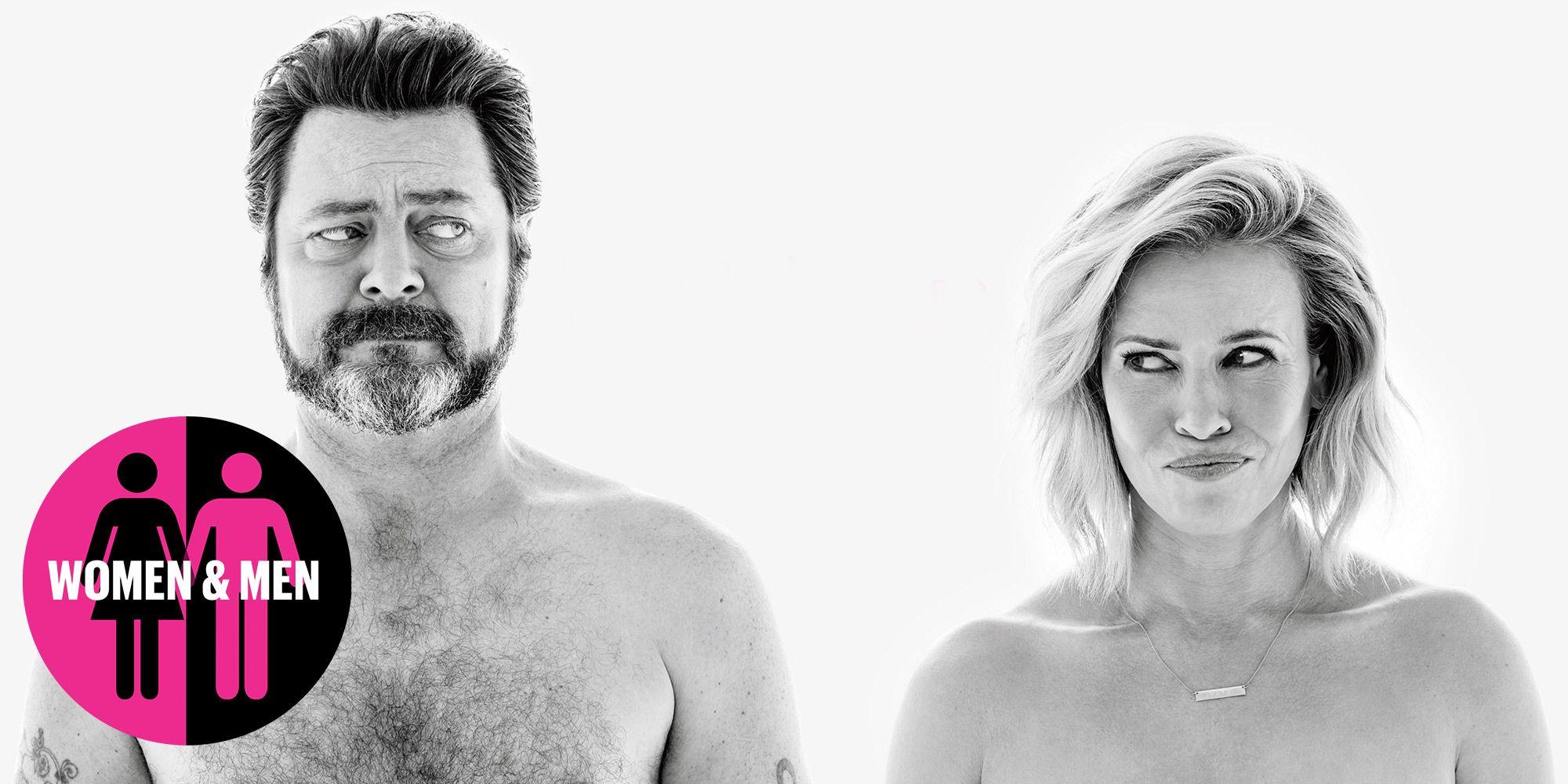 Nick Offerman and Chelsea Handler on Men, Women, and Genitalia