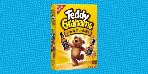 jack daniel's teddy grahams