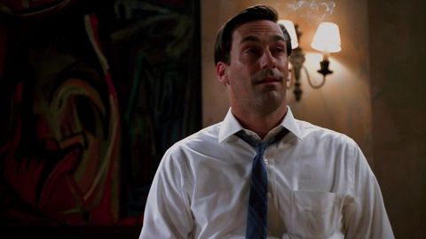 Mad Men Weed - High Face