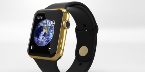Product, Yellow, Electronic device, Watch, Technology, Fashion accessory, Gadget, Font, Display device, Watch accessory,