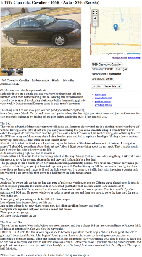 Craigslist Car Seller Killed