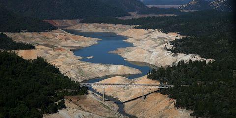 California's Lake Oroville Drought