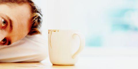 Coffee hangover