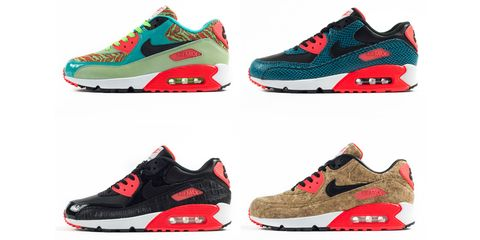 5d2b8e51184fdf Ranking Nike s Air Max 90 25th Anniversary Pack