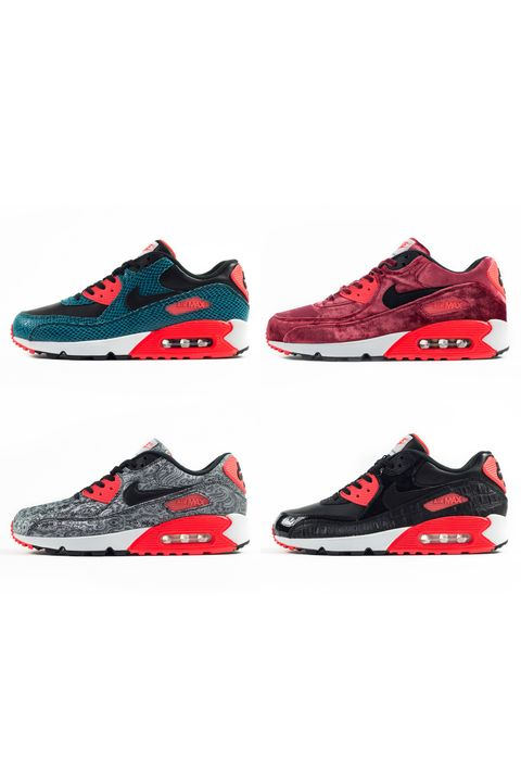 d8645603b0 To celebrate the 25th anniversary of their beloved Air Max 90 running  shoes, Nike is