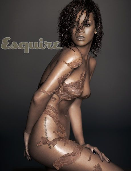 Rihanna Naked Pictures and Video - Esquire Sexiest Woman Alive