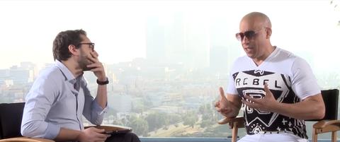 Vin Diesel Can't Stop Singing Paul Walker Tribute Songs