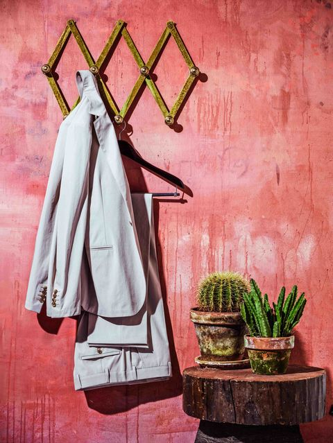 """This cotton gabardine suit from Hermès, like so many suits today, is unlined, with an easy drape and nothing but potential to the man fortunate enough to wear it.<em>One-button cotton suit ($3,850) by Hermès&#x3B; <a href=""""http://www.hermes.com/"""">hermes.com</a>. </em>"""