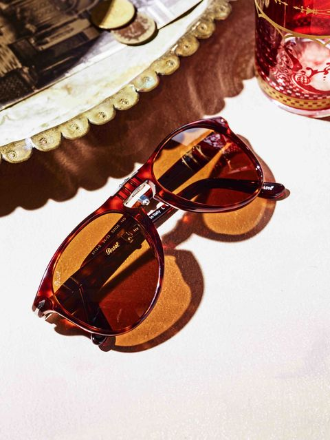 """The Persol 714's, as they were known at launch back in the 1960s, quickly became synonymous with Steve McQueen, who wore them in <em>The Thomas Crown Affair</em>. Persol has reissued them with lighter frames and a slimmer profile, and the world is a shadier, cooler place for it.<em>Tortoiseshell sunglasses ($330) by Persol&#x3B; <a href=""""http://www.sunglasshut.com/"""">sunglasshut.com</a>. </em>"""