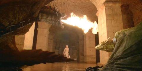 Game of Thrones Season 5 Dragons