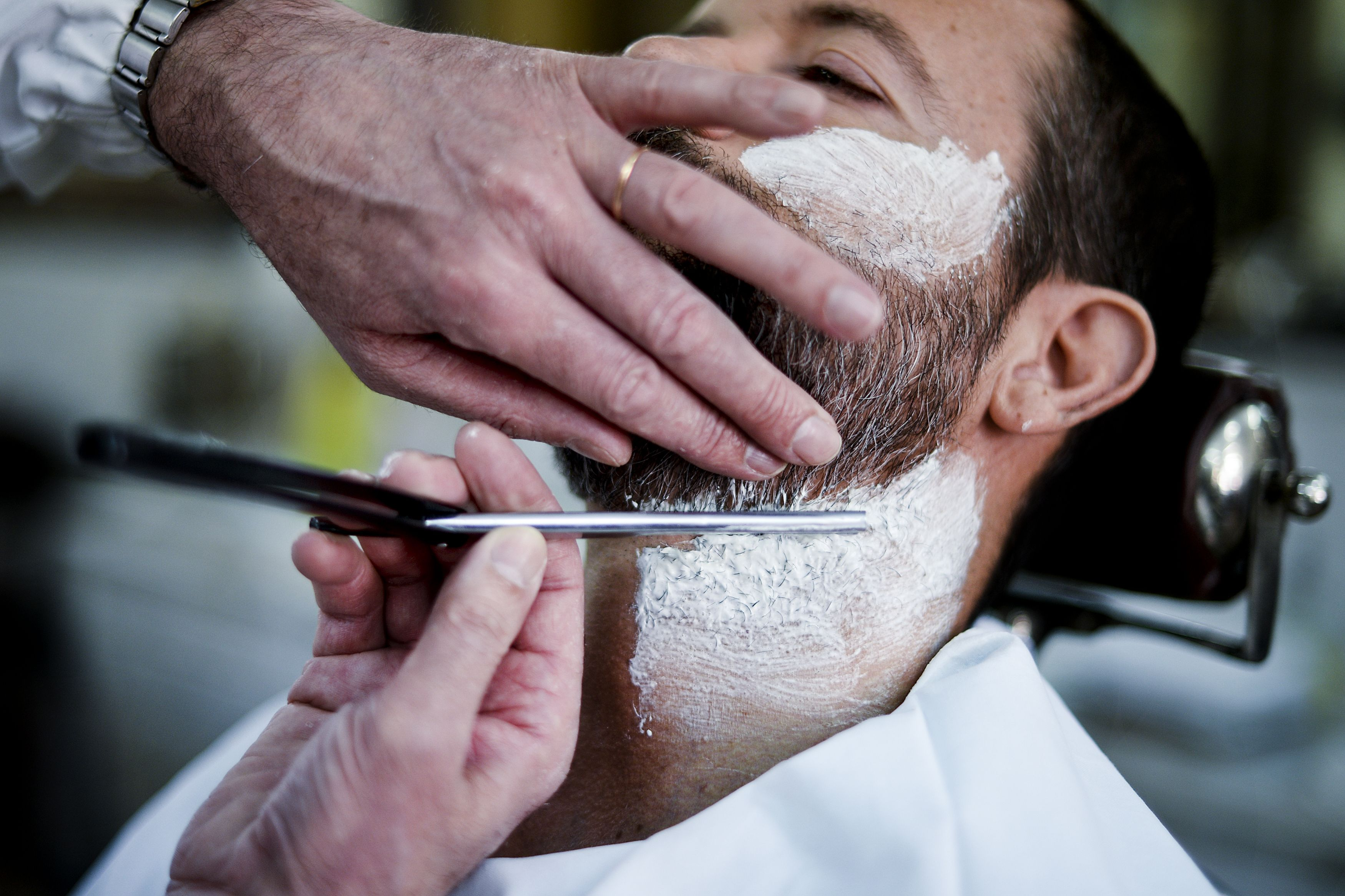 1ee0cd9a22a What Not To Do While in the Barber Chair - Grooming Advice for Men