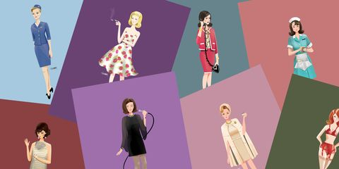 This Tumblr Reimagines Don Draper's Women as Sexy Illustrations